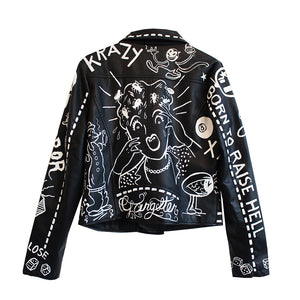 'BUGS IN HAIR' Leather Jacket