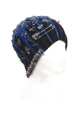 SSIK ONE OF A KIND 'COBALT' Silicon Drip Beanie - AVAILABLE FOR  IMMEDIATE DELIVERY