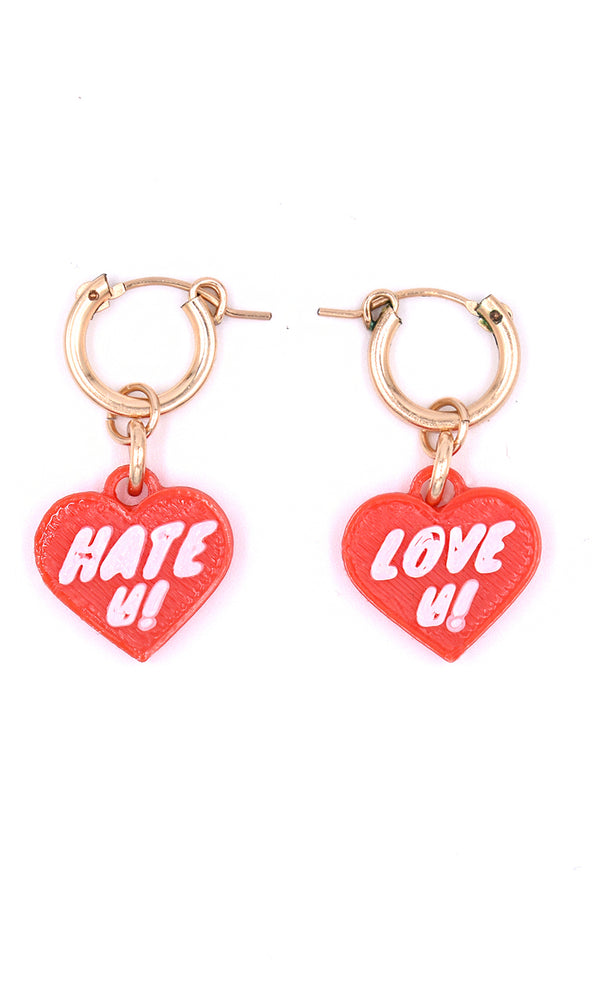 LOVEU HATEU Earrings