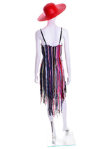 Summer Nights Fringe Dress