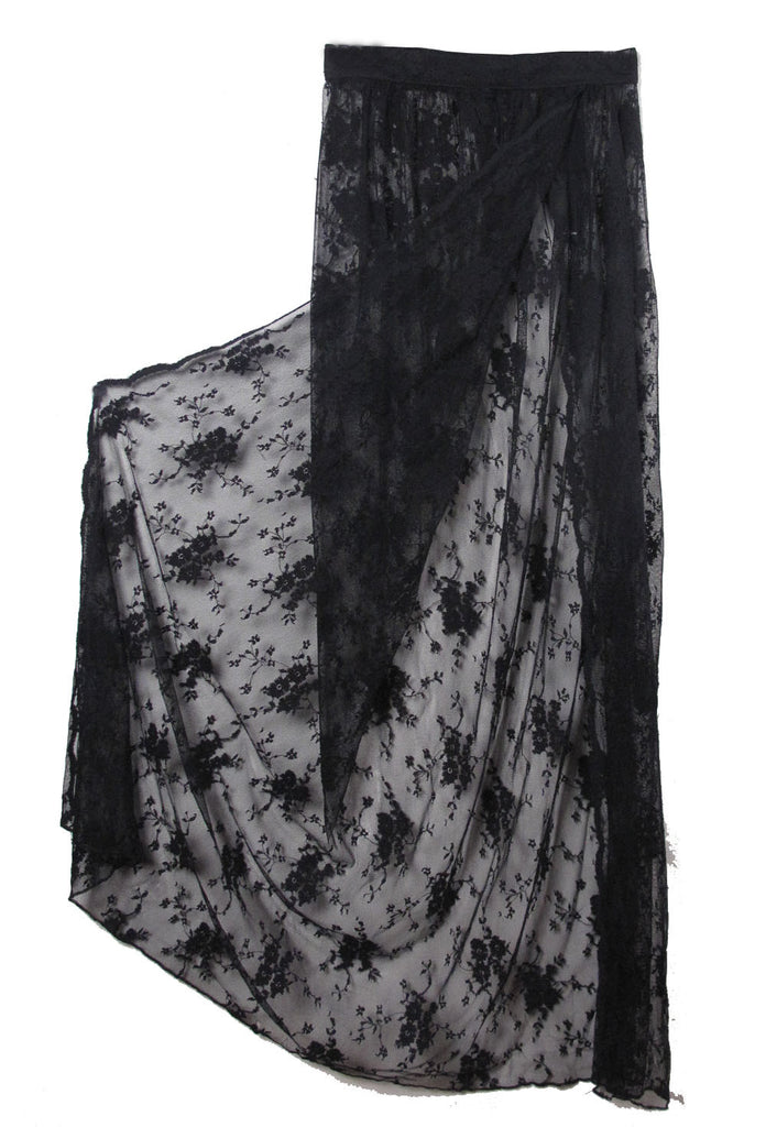 Sheer Lace Skirt - IMMEDIATE DELIVERY SIZE S