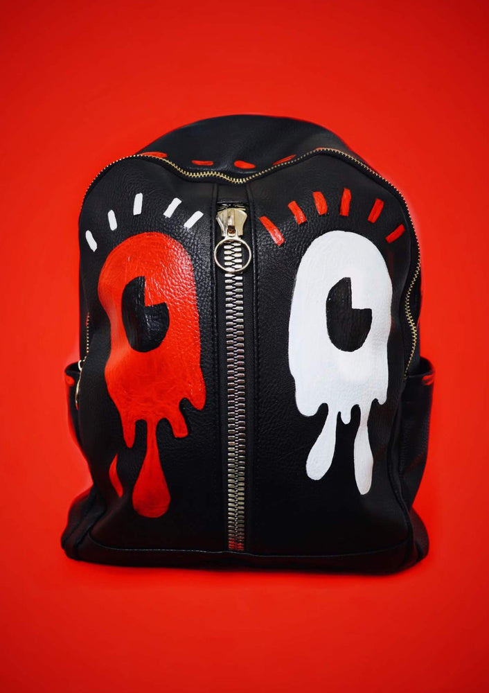 Happy Monster Vegan Leather Backpack