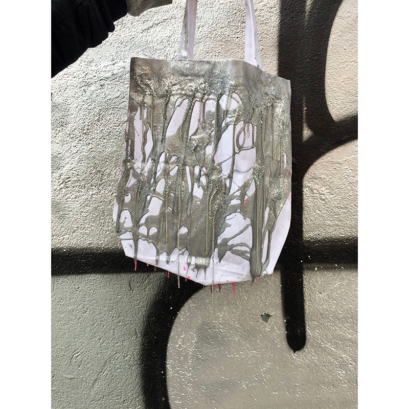 'Double Sided Chain' Tote