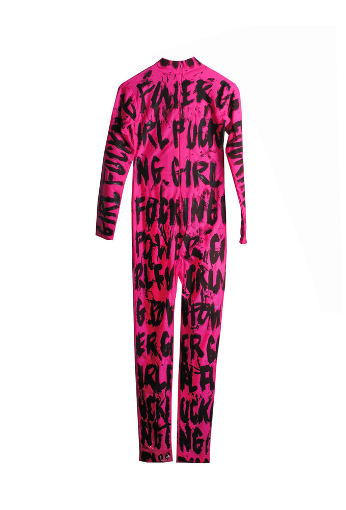 Iris Bonner THESEPINKLIPS Girl Fucking Power Catsuit - AVAILABLE FOR IMMEDIATE DELIVERY SIZE L