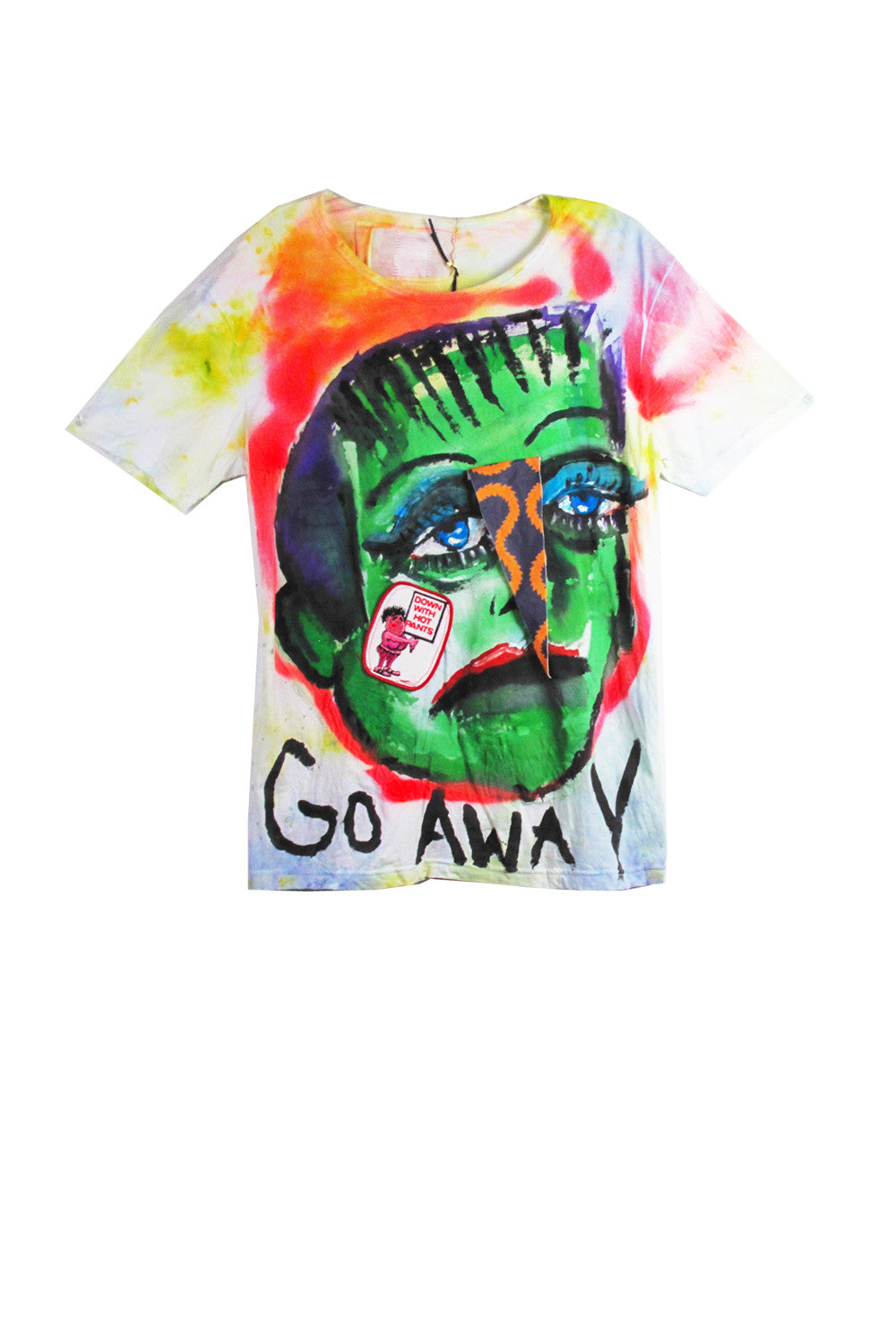 Scooter LaForge 'GO AWAY' Tee - AVAILABLE FOR IMMEDIATE DELIVERY SIZE M