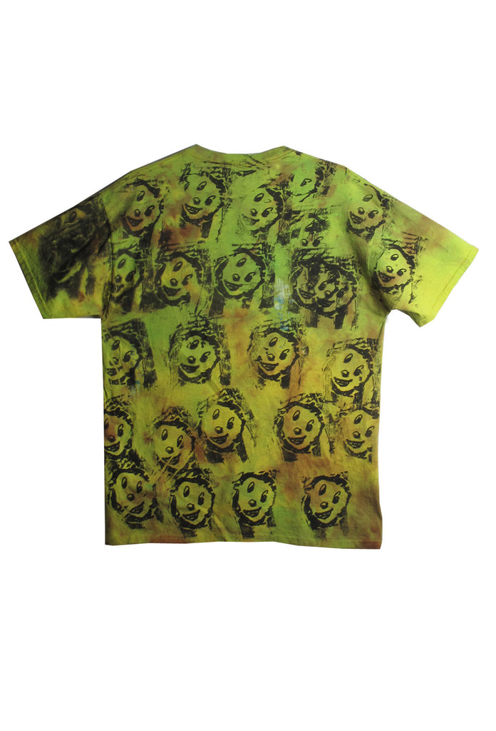 Scooter LaForge 'GREEN SAD FACE' Tee