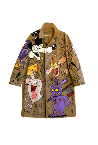 SUZAN PITT 'GUN BUNNY' Coat - AVAILABLE FOR IMMEDIATE DELIVERY MENS SIZE XL