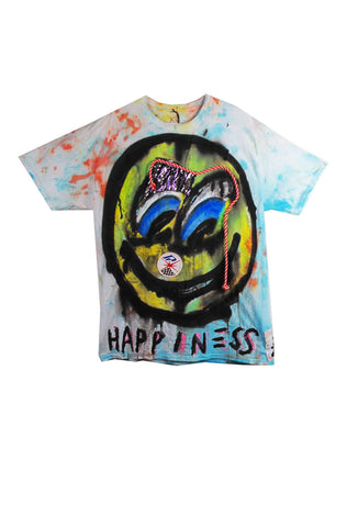 Scooter LaForge 'HAPPINESS' Tee - AVAILABLE FOR IMMEDIATE DELIVERY SIZE XL