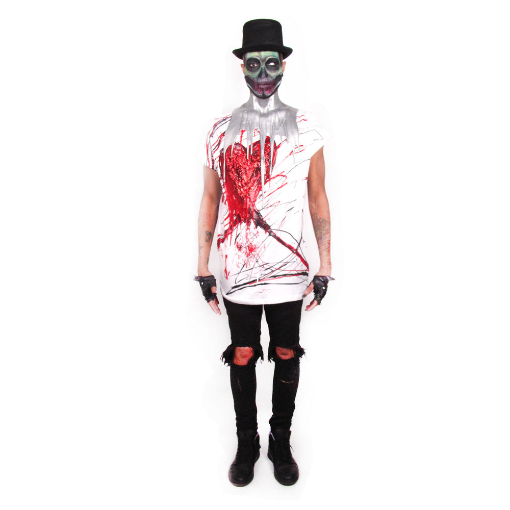 Bleeding Heart Zombie Boy