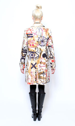 Goddess of Love Trench Coat