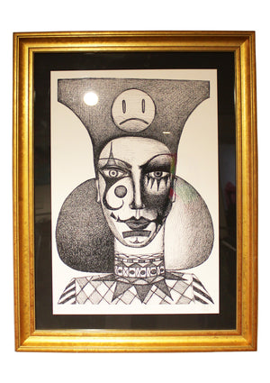 """The Politician"" 2016, framed print"