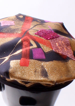 Painted Motorcycle Cap - Large