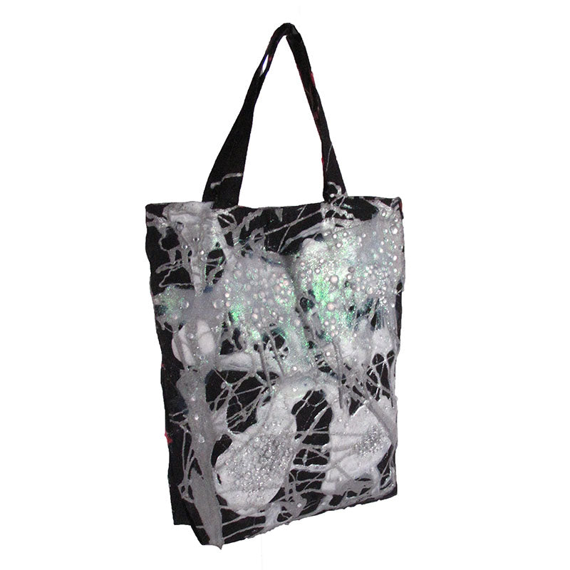 'Double Sided Crystal Metallic' Tote
