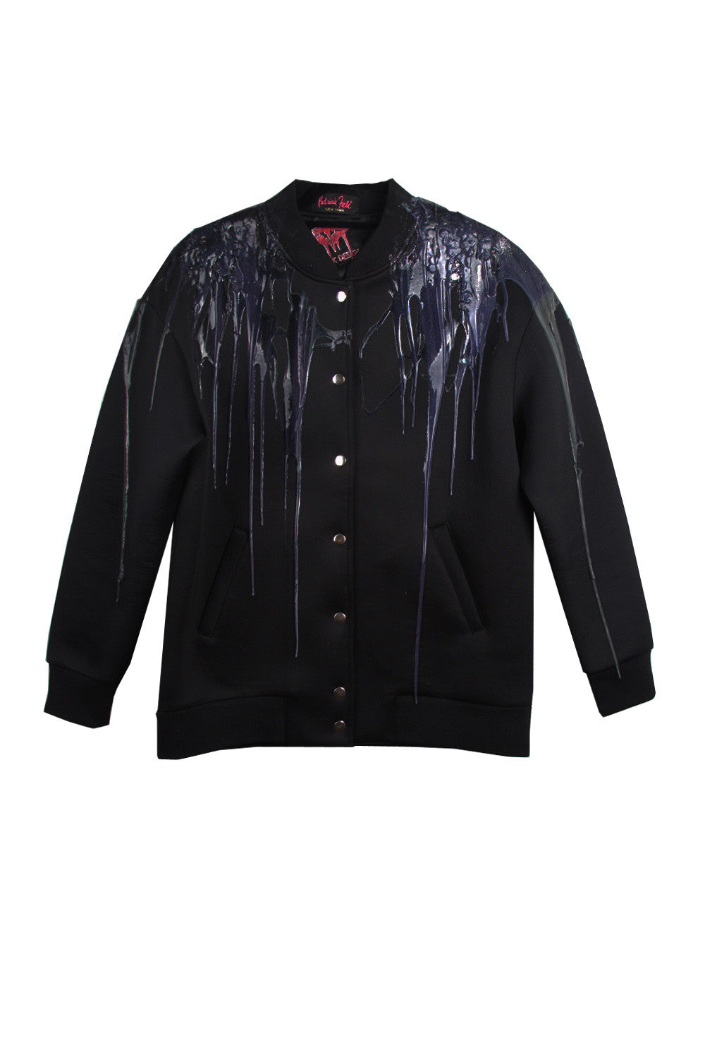 SSIK ONE OF A KIND Silicon Swirl Drip Snap Bomber - AVAILABLE FOR  IMMEDIATE DELIVERY MENS SIZE S/M