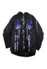 SSIK ONE OF A KIND Silicon Swirl Drip Oversized Parka - AVAILABLE FOR  IMMEDIATE DELIVERY MENS SIZE L/XL
