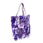 Double Sided Glitter Drip Tote