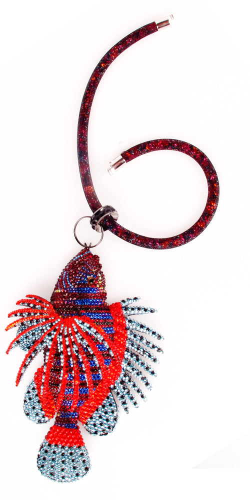 Swarovski Lionfish Necklace