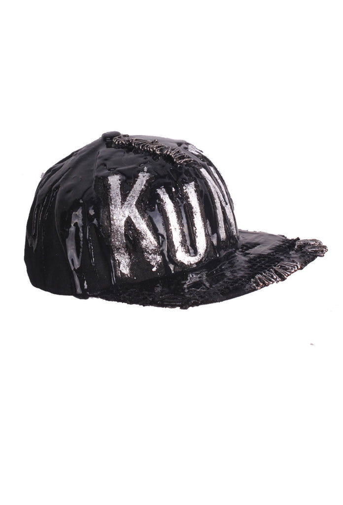 SSIK ONE OF A KIND 'KUNT' Silicon Drip Baseball Cap - AVAILABLE FOR  IMMEDIATE DELIVERY
