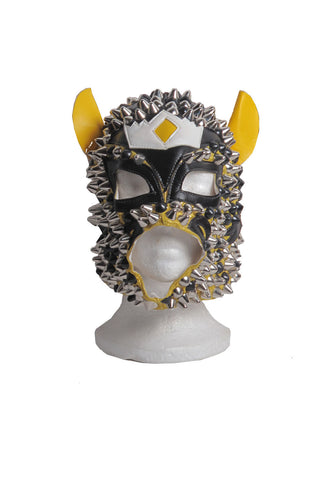 STUDMUFFIN Tiger Studded Luchadora Mask - AVAILABLE FOR  IMMEDIATE DELIVERY