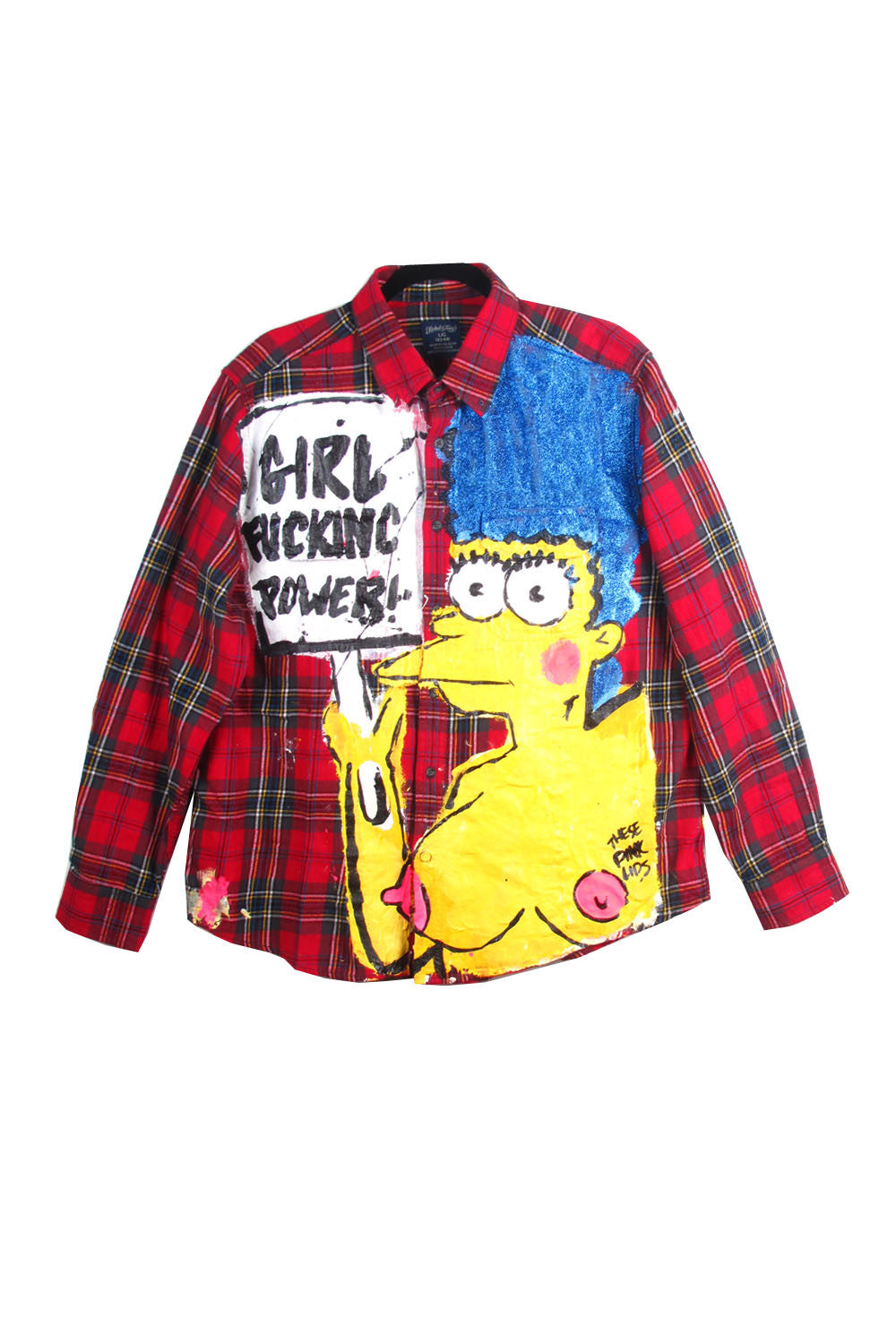 IriGirl Power Marge Flannel Shirt