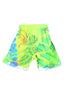 Ben Copperwheat One of A Kind 'Neon Yellow' Basketball Shorts- AVAILABLE FOR IMMEDIATE DELIVERY SIZE M & XL