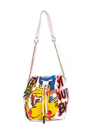 Iris Bonner THESEPINKLIPS Marge Not Your Bitch Bucket Bag - AVAILABLE FOR IMMEDIATE DELIVERY