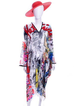 Patricia Field ArtFashion Sequined Caftan