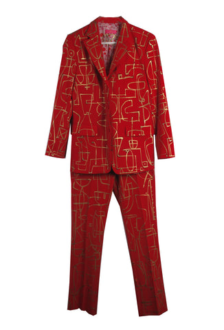 Jody MORLOCK Hand Painted 'VALENTINE' Women's Suit - AVAILABLE FOR  IMMEDIATE DELIVERY SIZE 6