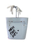 Iris Bonner THESEPINKLIPS Respect the Gap Bucket Tote