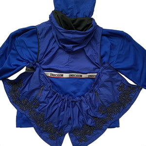 Ruffle Underwear Band Train Jacket