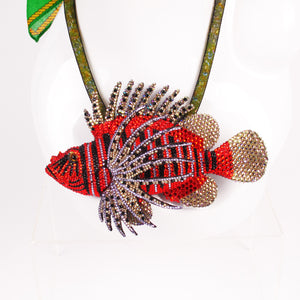 Swarovski Lionfish Pendant Necklace