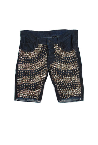STUDmuffinNYC 'Scales' Denim Shorts