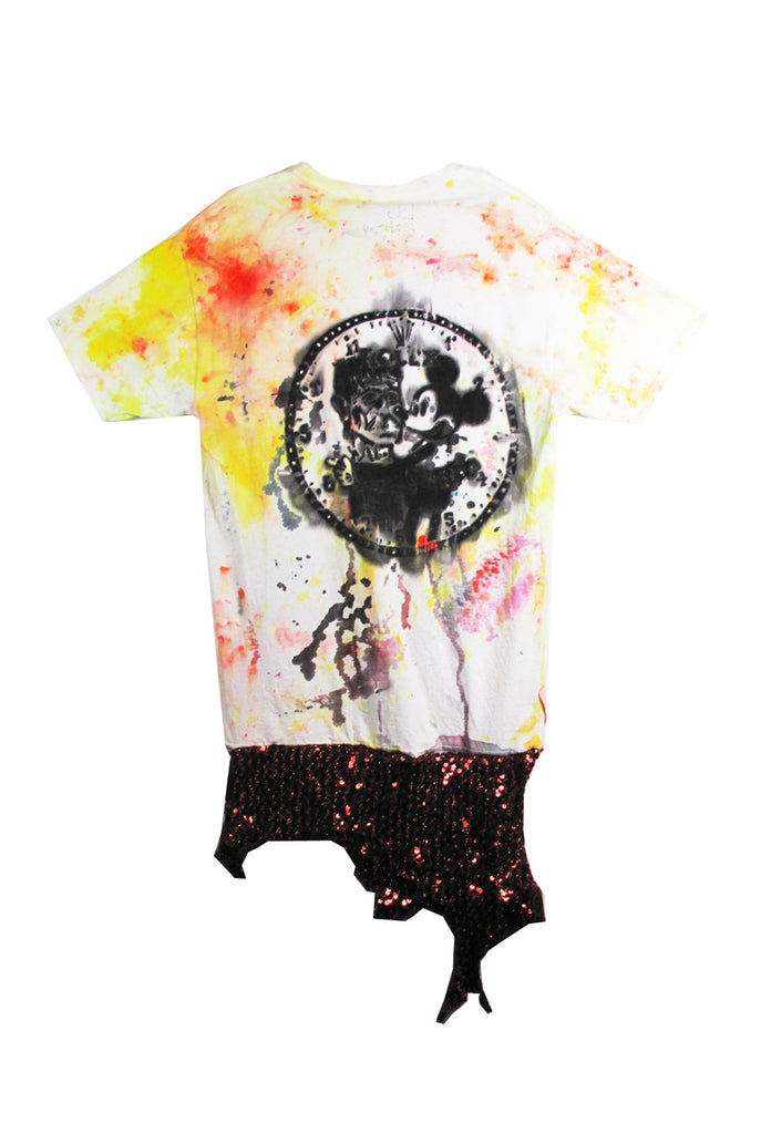 Scooter LaForge 'SCARY CLOWN' Tee - AVAILABLE FOR IMMEDIATE DELIVERY SIZE L