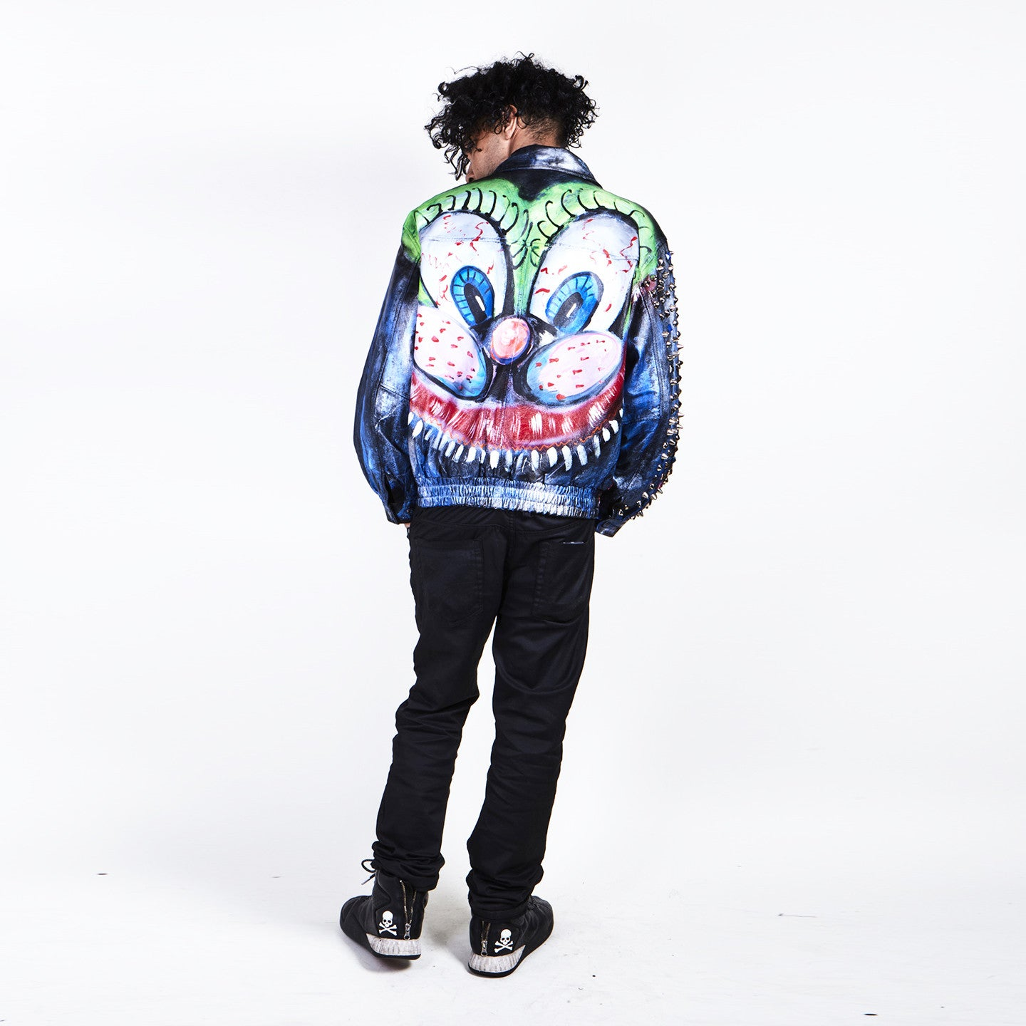 Scooter LaForge X STUDMUFFIN - EXCLUSIVE 'Bunny' Leather Bomber Jacket