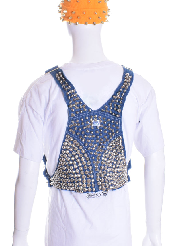 Unisex Liberty Overall Studded Harness