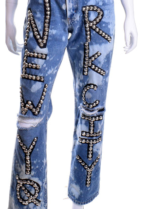 Big Apple Studded Jeans