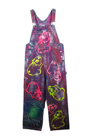 Ben Copperwheat One of A Kind 'SEQUIN PIGS' OVERALLS- AVAILABLE FOR IMMEDIATE DELIVERY SIZE M