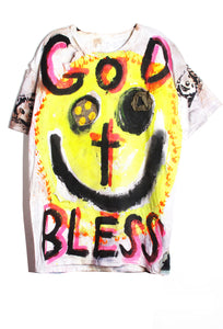 Scooter LaForge 'GOD BLESS' Tee