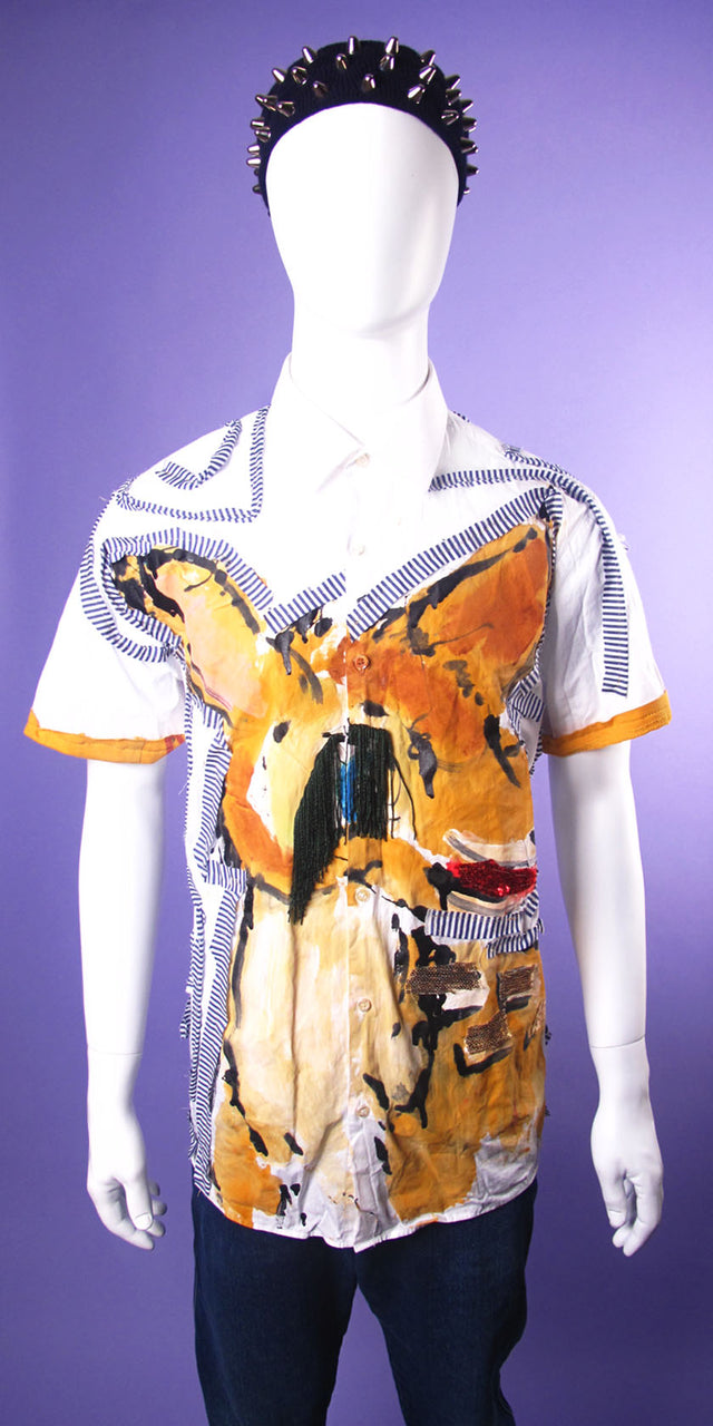 Bambi Short Sleeve Button Up Shirt