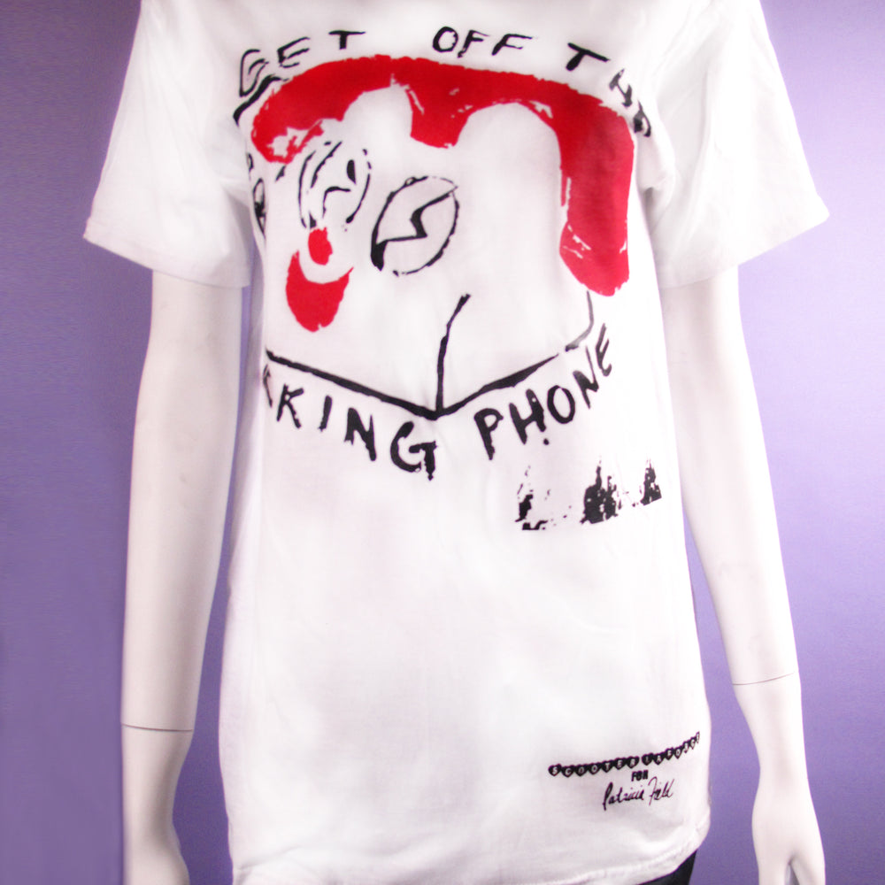 Get Off The F@*king Phone Printed Tee