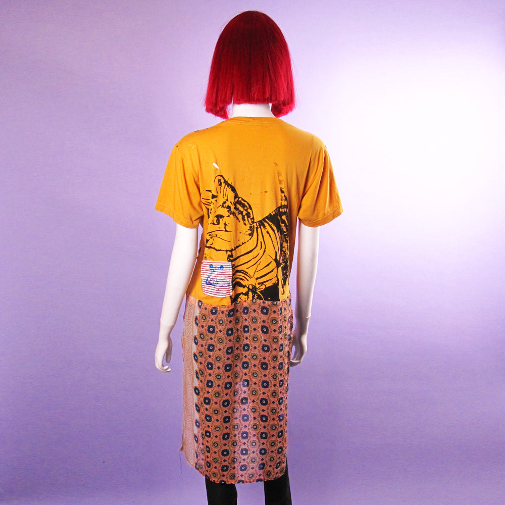 Woondermoi Skull Tee with Tail