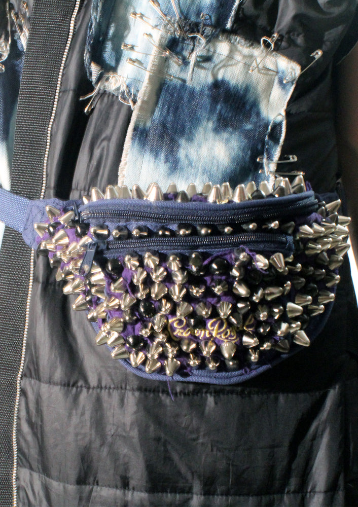 Studded Crown Royal Mini Waist Pack