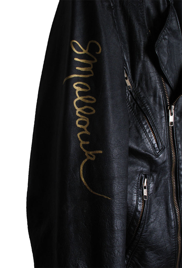 Suzanne Mallouk  'NON SWIPE' Genuine Leather Jacket - IMMEDIATE DELIVERY SIZE M