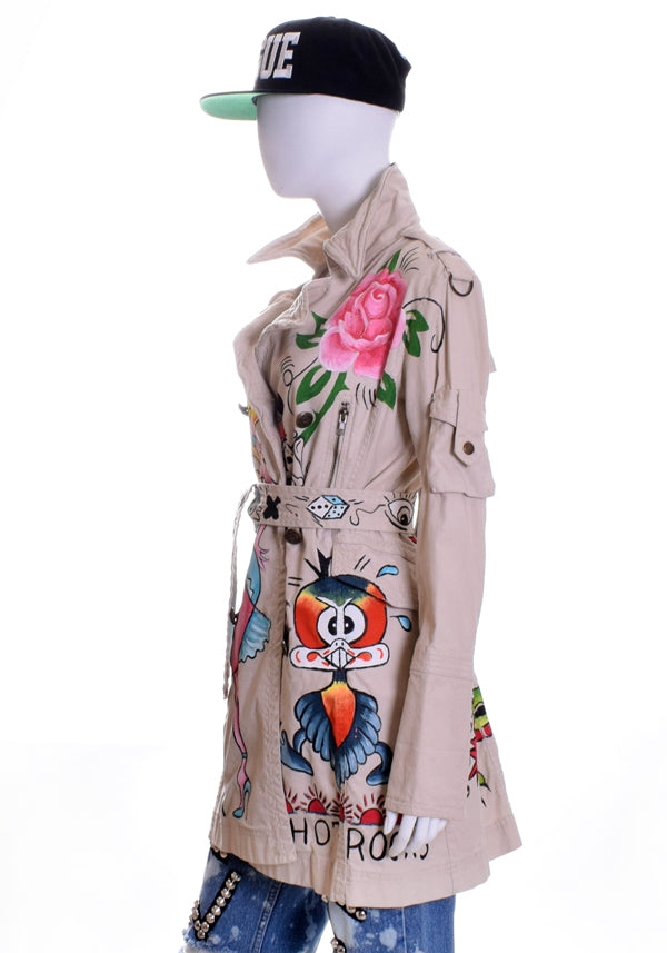 'Mi Vida Loca' Trench Coat