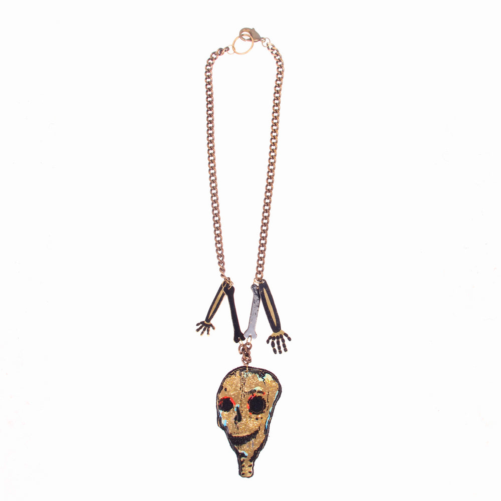 Lazy Bones Necklace