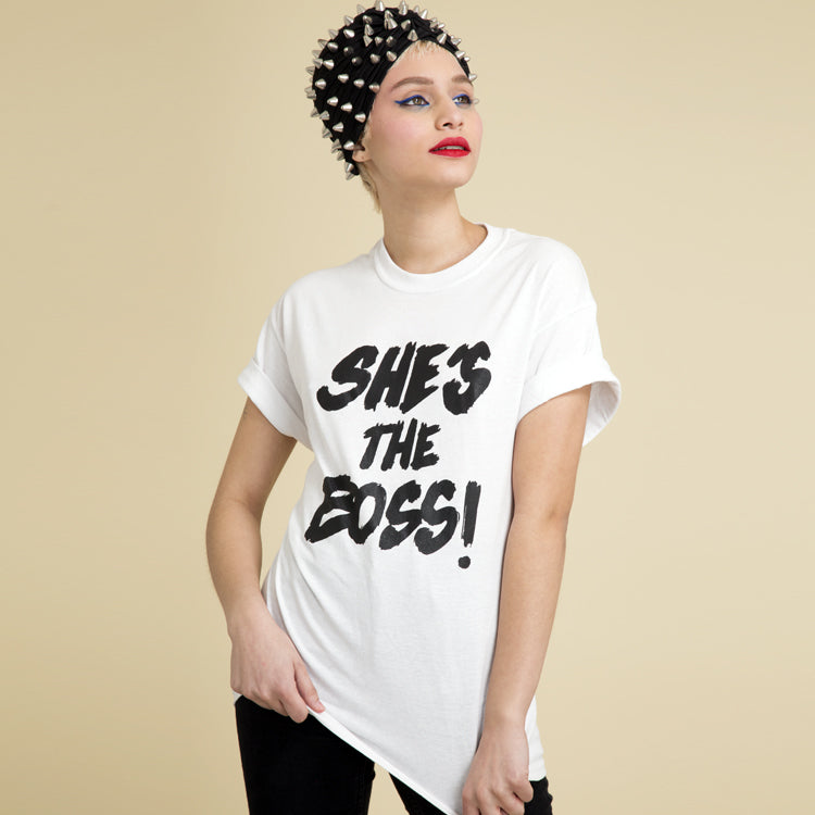 She's the Boss Tee