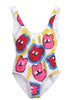 Iris Bonner THESEPINKLIPS Lips Bathing Suit