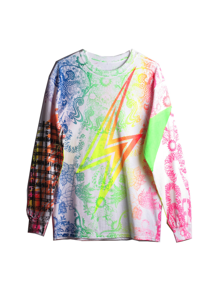 Ben Copperwheat 'TUDOR NEON' L/S Tee - IMMEDIATE DELIVERY SIZE M