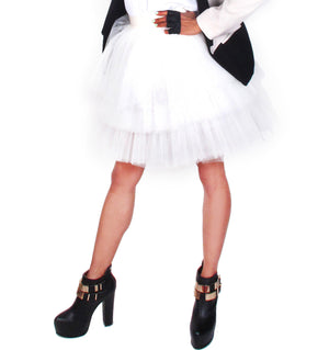 "Three Tiered Knee Length ""Carrie"" Tutu Skirt by Patricia Field"