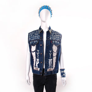 Arsenokoitai Denim Vest
